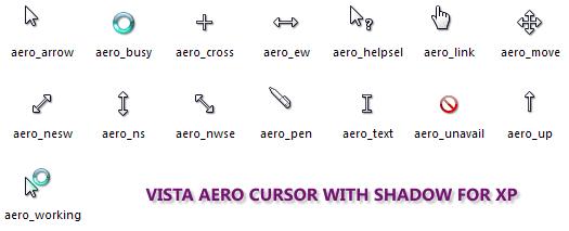 Aero Cursor for XP by comandoboqueron on DeviantArt.
