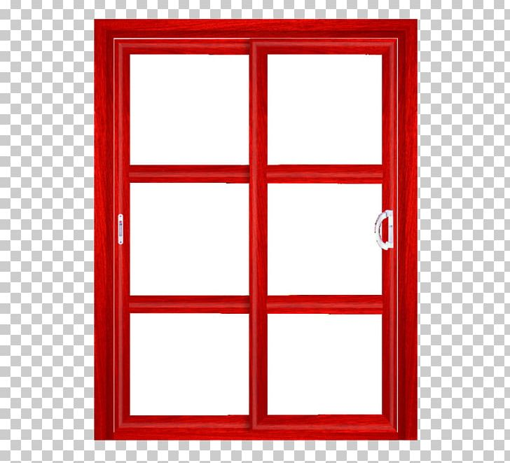 Window Frame Red Glass PNG, Clipart, Angle, Area, Border.