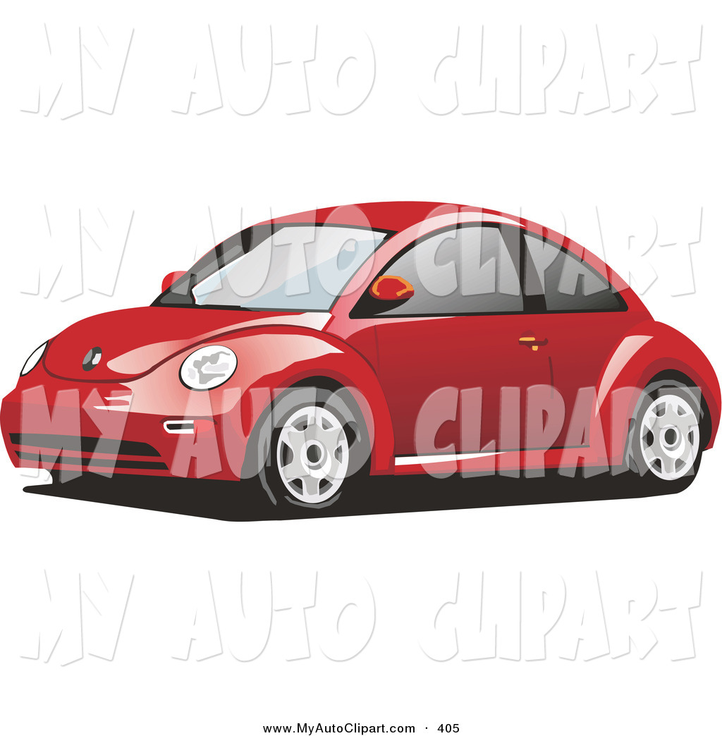 Royalty Free Stock Auto Designs of Volkswagen Bugs.