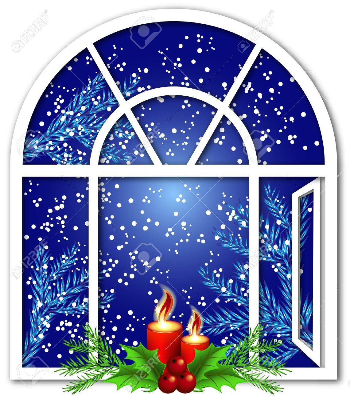 Windows christmas clipart 7 » Clipart Portal.