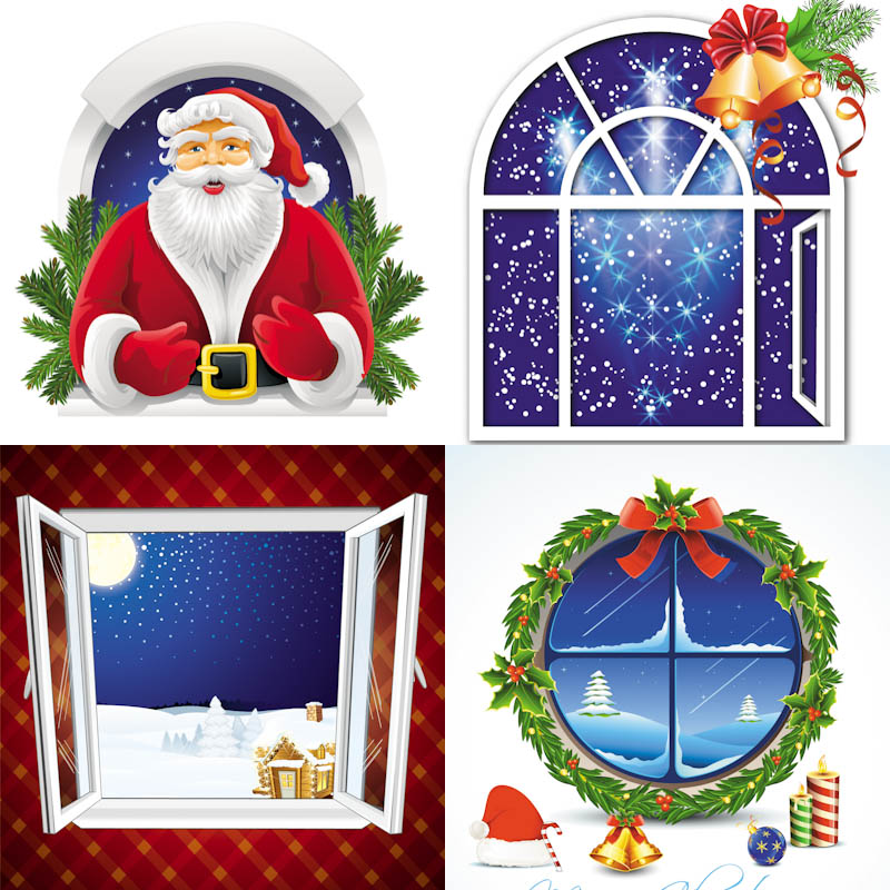 Free Christmas Window Cliparts, Download Free Clip Art, Free.