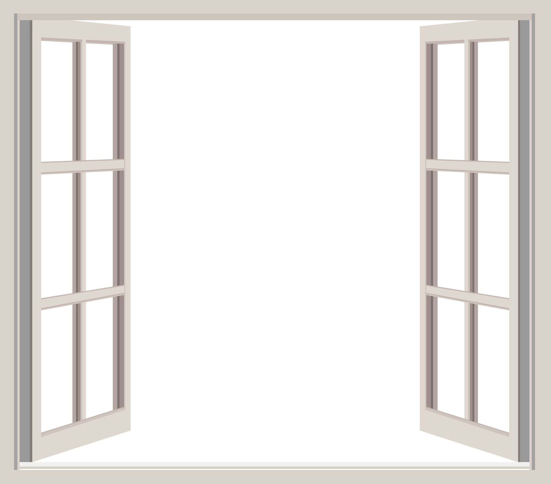 Open window frame clipart free stock photo public domain.
