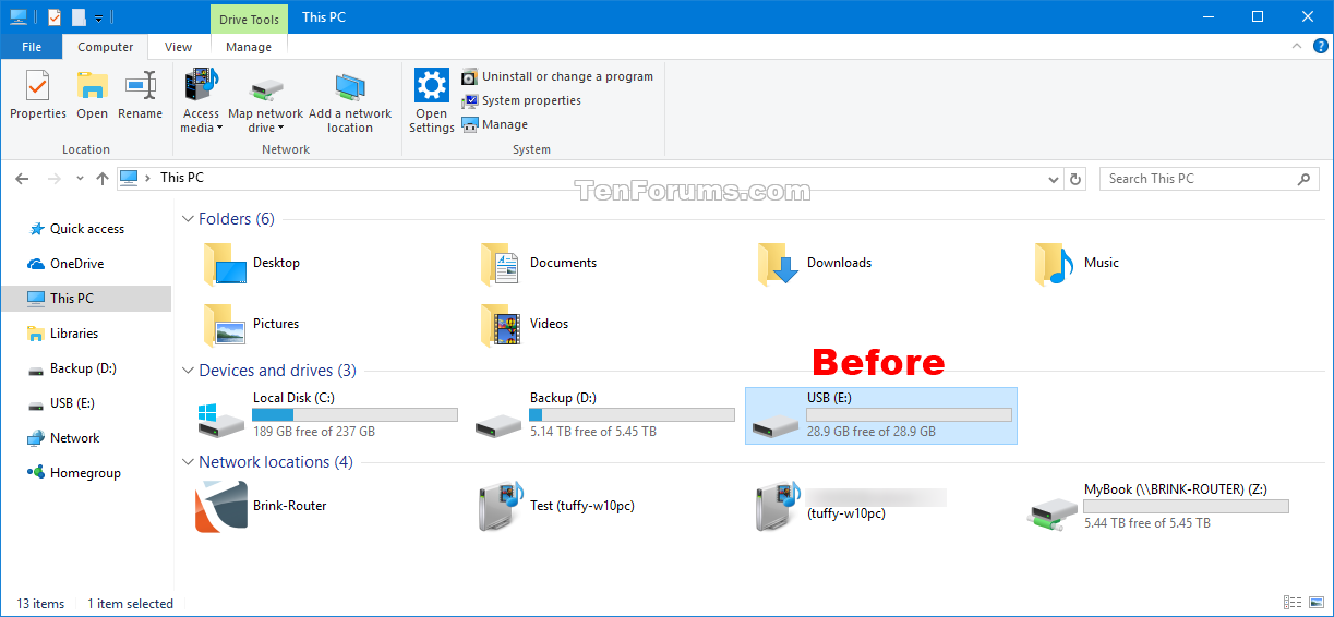 Change Drive Icon in Windows 10.