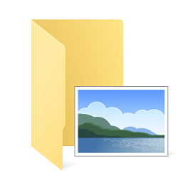 Change or Restore Pictures Folder Icon in Windows.