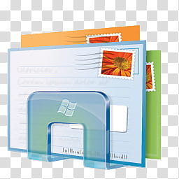 Windows Live For XP, windows live mail logo transparent.