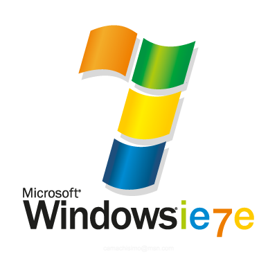 Microsoft Windows 7 logo vector (.EPS, 495.35 Kb) download.