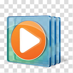 Windows Live For XP, Media player icon transparent.