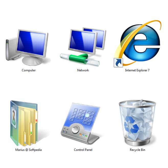 Windows Vista Icons.