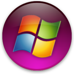 Windows vista round logo series of multi.