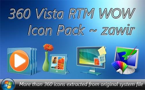 Vista RTM WOW PNG Icon Pack by zawir on DeviantArt.