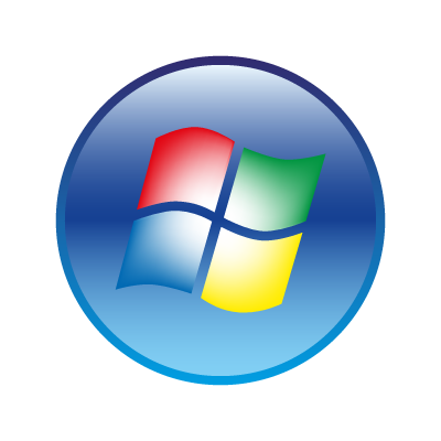 Windows Vista logo vector in .eps and .png format.