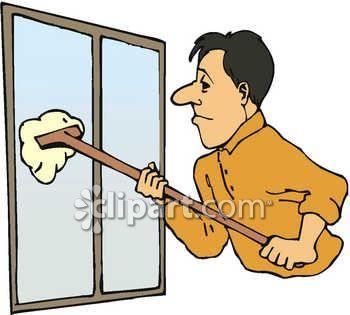 Window Washing Clipart.