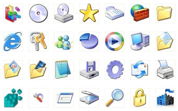 download free Xp Icons.