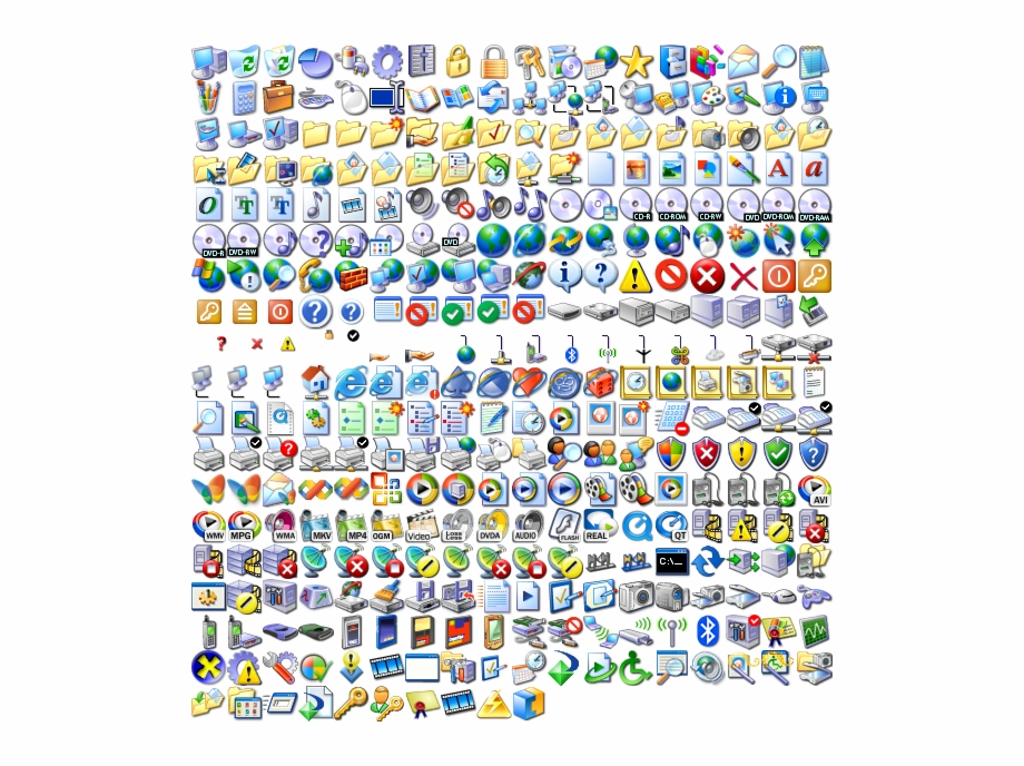 Windows Xp Icons Png.