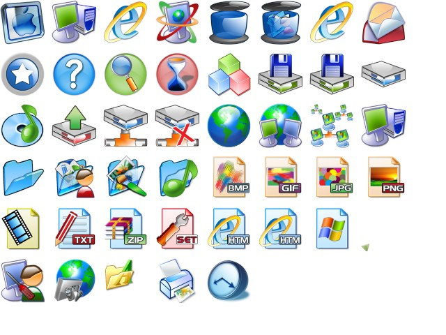 Personalize your Windows XP icons.
