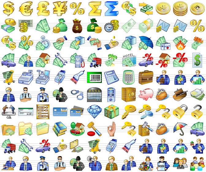 Windows XP Icons. XP Menu Icons.