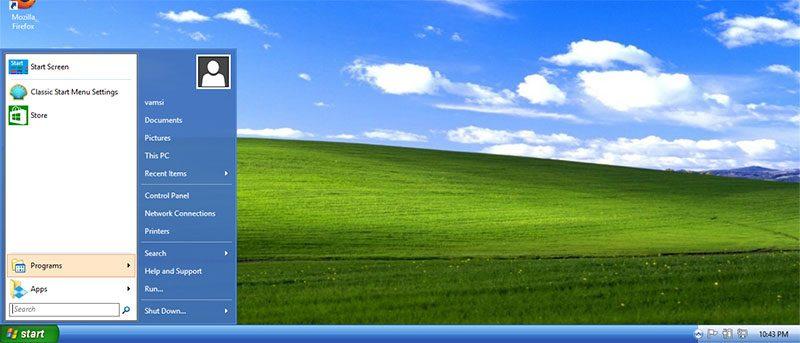 How to Make Windows 8 Look Like Windows XP.