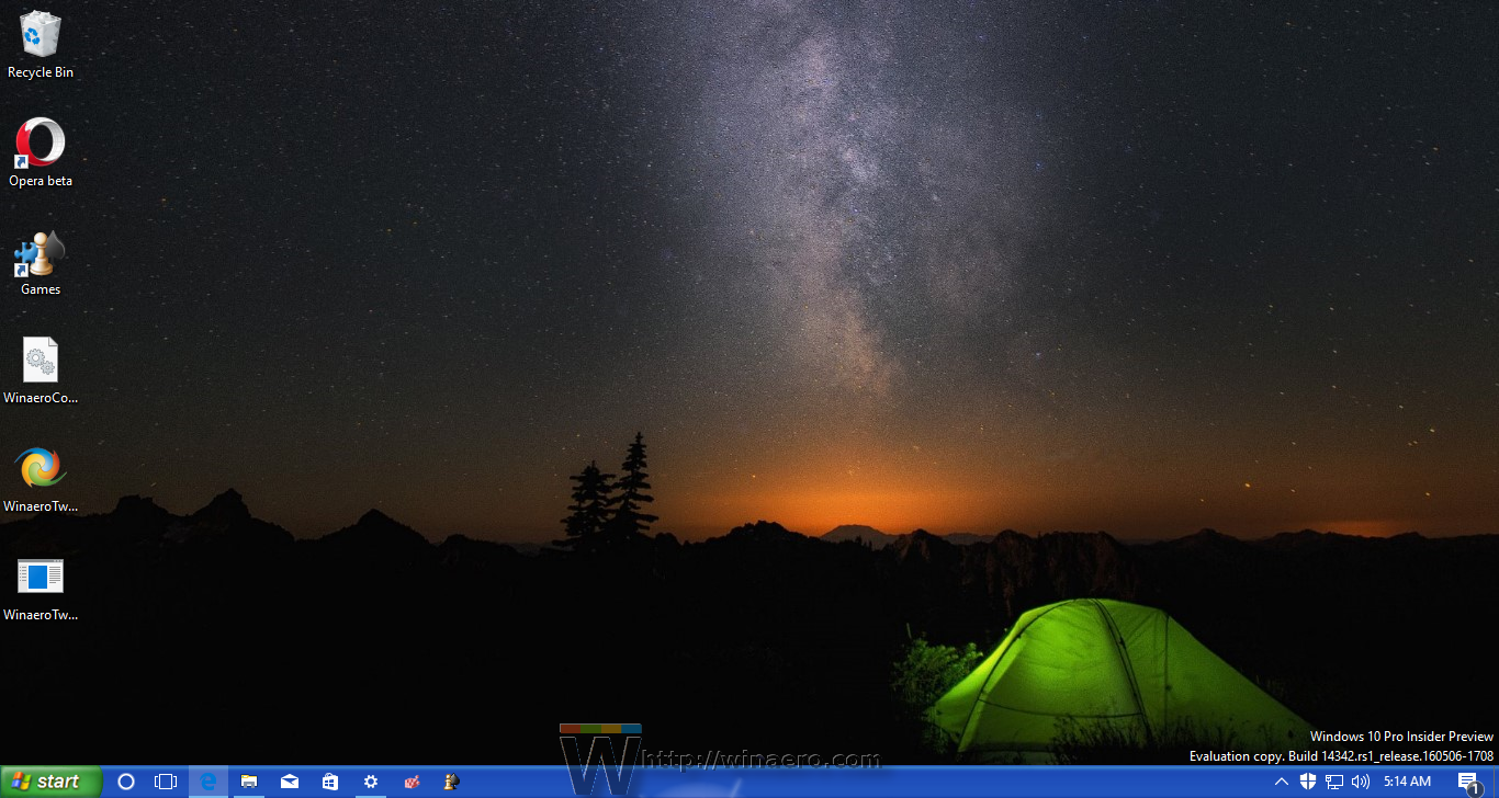 Get Windows XP look in Windows 10 without themes or patches.