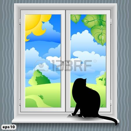 473 Windowsill Stock Vector Illustration And Royalty Free.