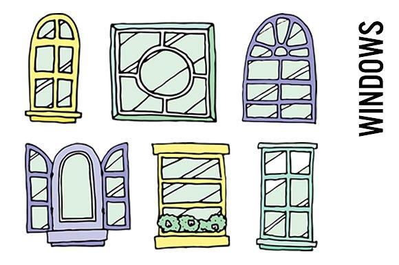 Windowsill Clip Art.