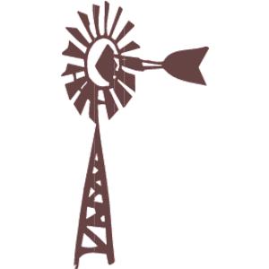 Wind Pump Clip Art.