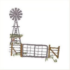 Wind Pump Landscapes.