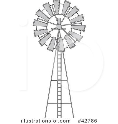 Windmill Clipart #42786.