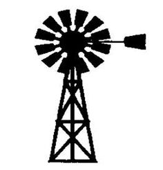 Wind Pump Clipart.