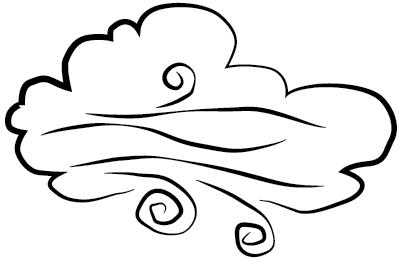 Windy Clip Art.