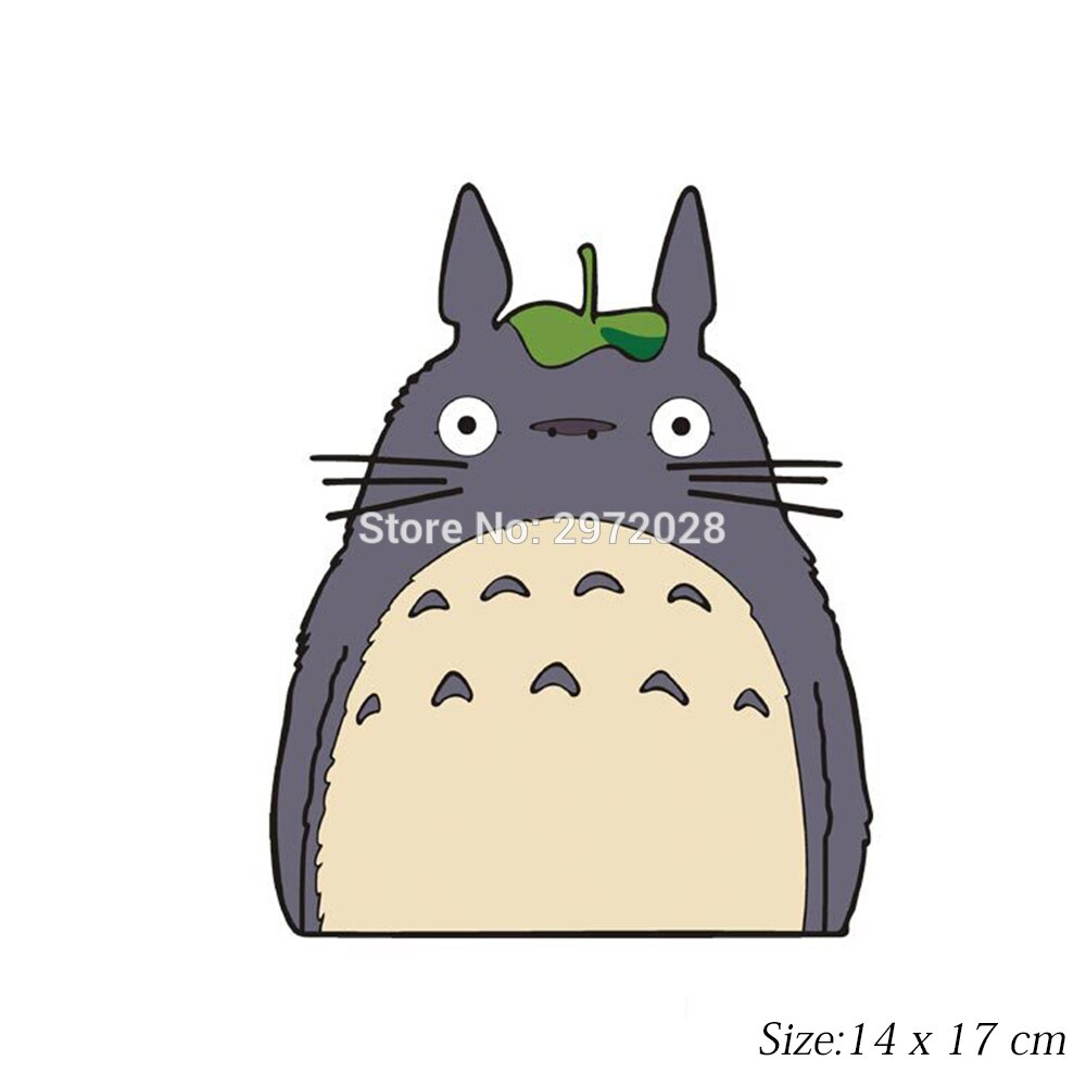 Cartoon Car Styling Lovely Cat Totoro Watching Looking Out of the Window  Windows Rear Windshield Stickers Car Accessories Decal.