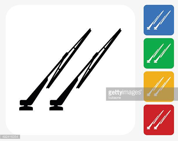 Windshield Wiper Vector Art And Graphics.