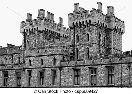 Picture of Windsor Castle, England, Great Britain csp5609427.