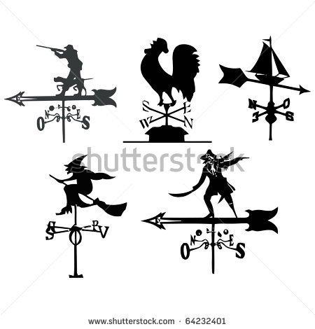 Wind Vane Clipart Weather Vanes Set #RehhTd.