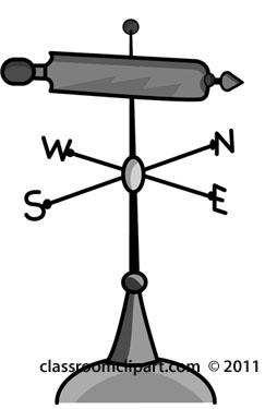 Wind Vane Clipart.