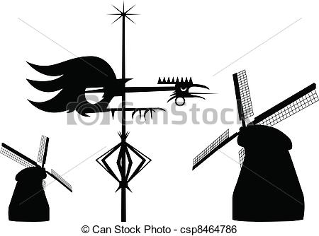 Wind vane Clipart and Stock Illustrations. 692 Wind vane vector.