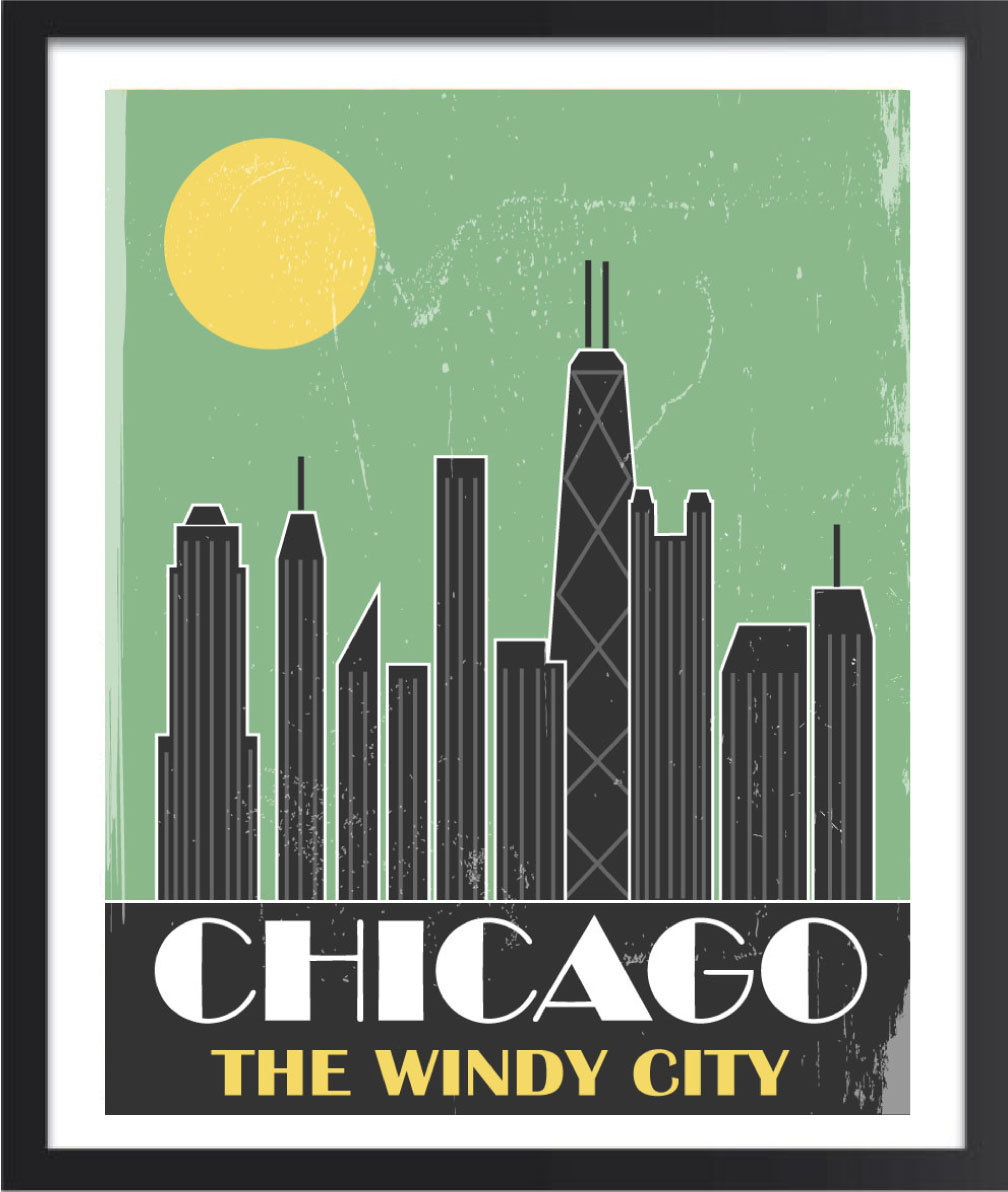 Windy city.