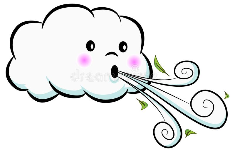 Windy Clouds Clipart & Free Clip Art Images #17354.