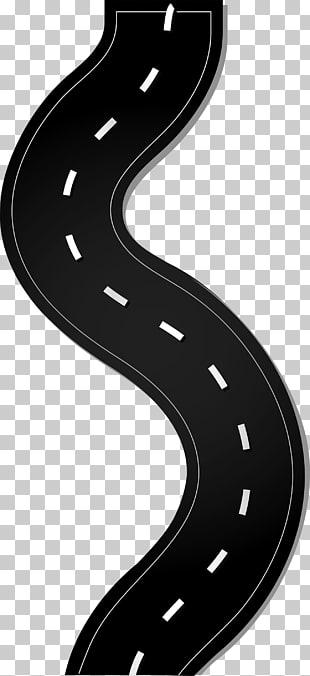 Brand Technology Angle, Winding road, white unicorn PNG.