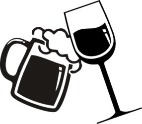 Wine And Beer Clipart.
