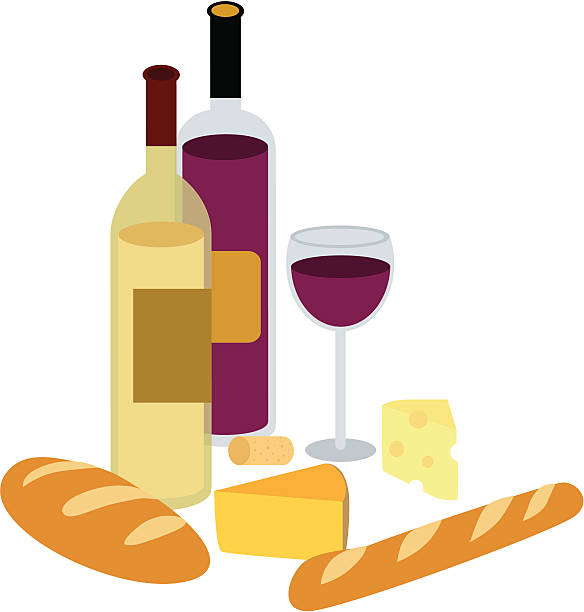 Wine and cheese clipart 6 » Clipart Station.