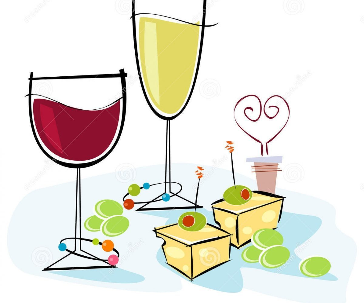 Wine and cheese party clipart 5 » Clipart Portal.