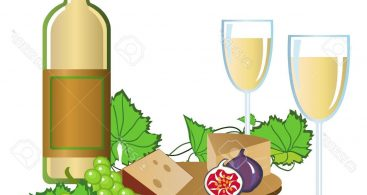 Wine And Cheese Party Vector Archives.