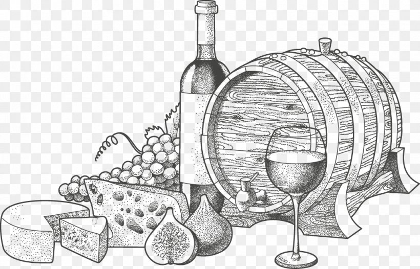 Wine Blue Cheese Illustration, PNG, 1027x660px, Wine, Black.
