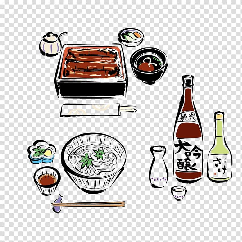 Japanese Cuisine Hot pot, Hand.