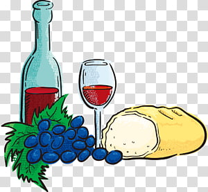 Food Wine transparent background PNG cliparts free download.
