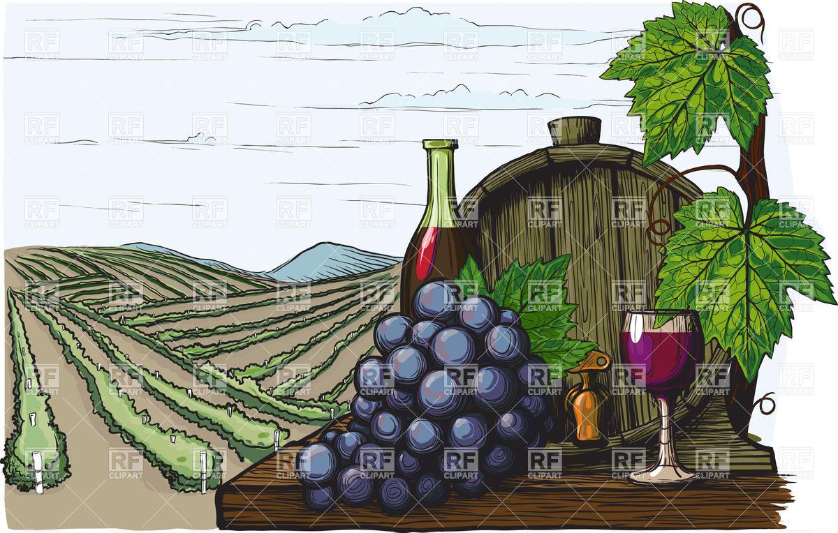 6035 Wine free clipart.