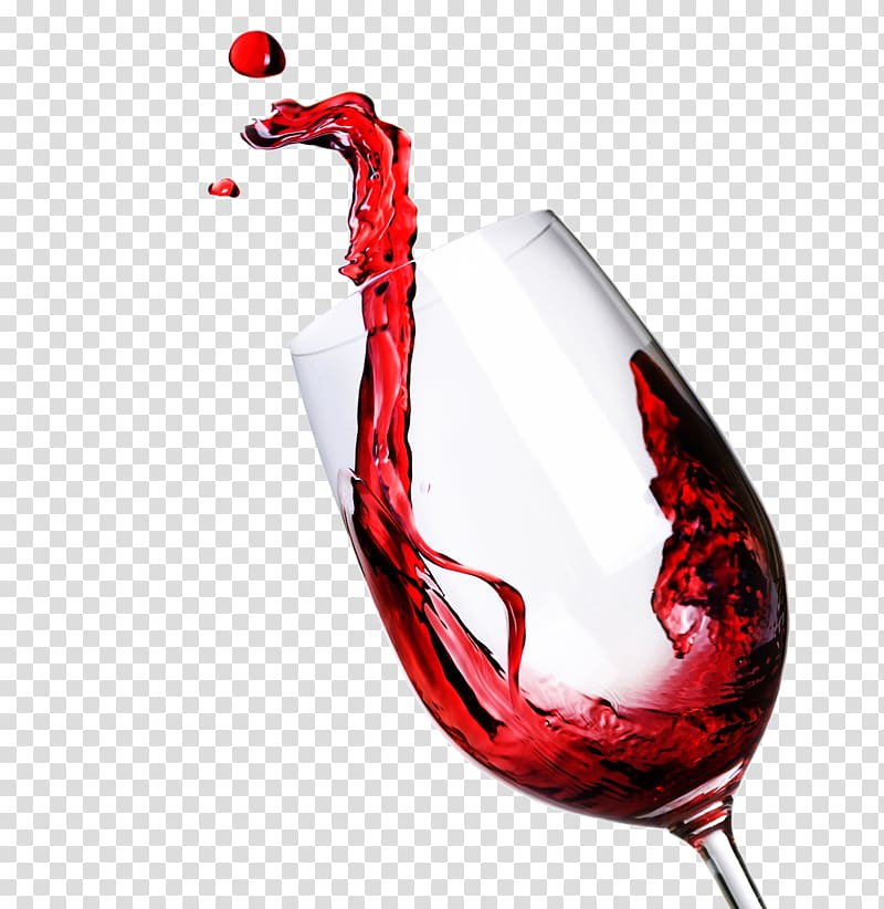 Wine glass splash illustration, Red Wine Wine glass Calendar Week.
