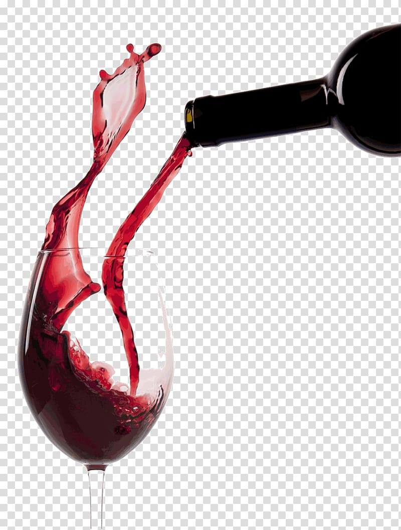 Red Wine White wine Wine glass, winery transparent background PNG.
