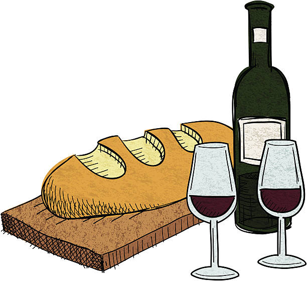 French Wine Clipart.