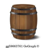Wine Barrel Clip Art.